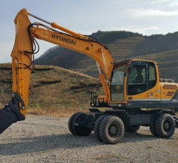 Hyundai Robex140W 2013
